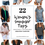 12 tops from amazon with textreading 22 women's summer tops amazingly affordable amazon fashion