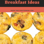 egg bites with text reading quick and easy recipes 8 keto breakfast recipes